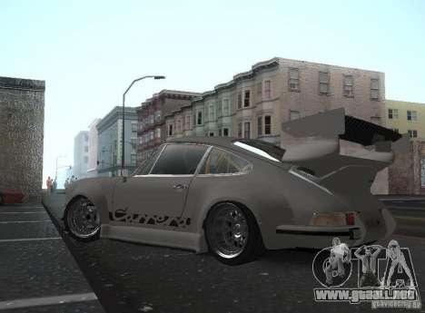 Porsche Carrera RS RWB para GTA San Andreas left
