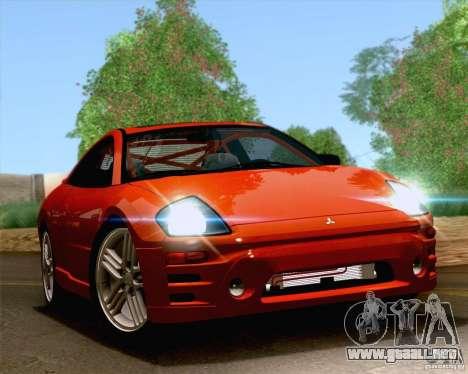 Mitsubishi Eclipse GTS 2003 para visión interna GTA San Andreas