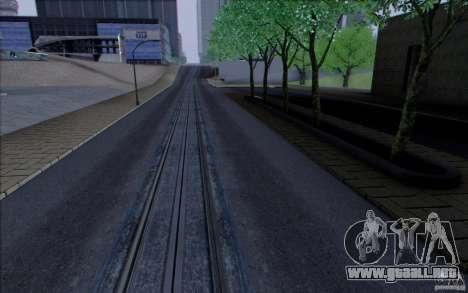 Carretera HD v3.0 para GTA San Andreas sucesivamente de pantalla