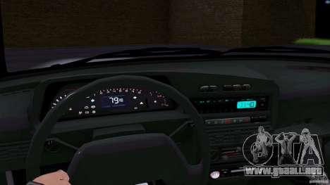 ВАЗ 2114 para GTA San Andreas vista posterior izquierda