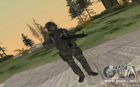 Seals soldier from BO2 para GTA San Andreas sucesivamente de pantalla