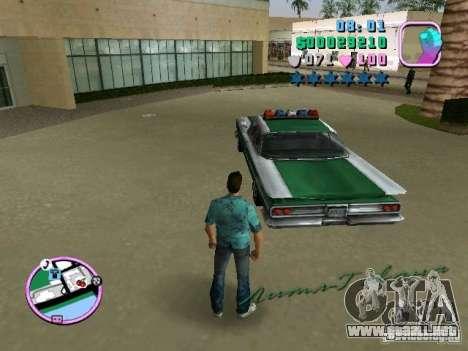 Voodoo Police para GTA Vice City visión correcta