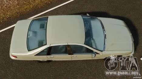 Chevrolet Caprice 1991 para GTA 4 visión correcta