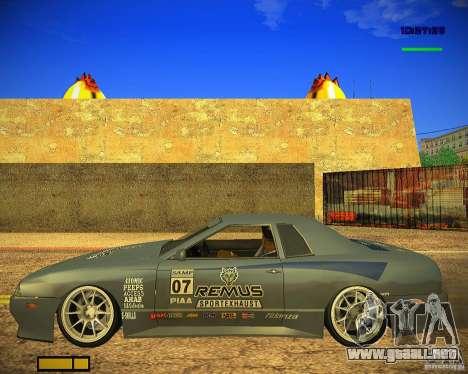 Pak vinilos para Elegy para la vista superior GTA San Andreas