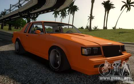 Buick Regal Grand National 1987 para GTA 4