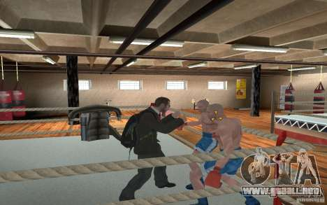 The combat system from GTA IV para GTA San Andreas quinta pantalla
