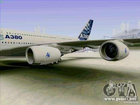 Airbus A380-800 para la visión correcta GTA San Andreas