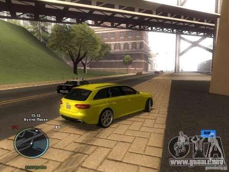 Tacómetro electrónico para GTA San Andreas quinta pantalla