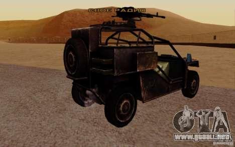 VDV Buggy de Battlefield 3 para GTA San Andreas left