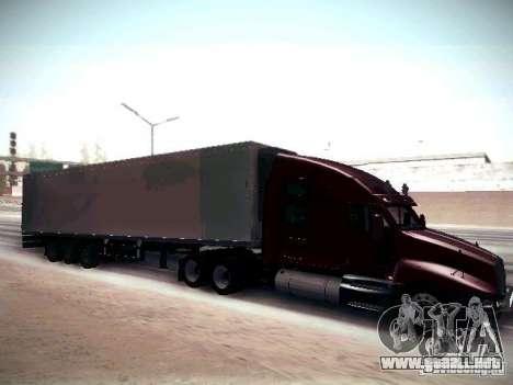 Kenworth T2000 V 2.7 para GTA San Andreas vista hacia atrás