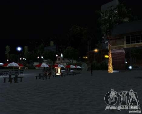Modern beach in Los-Santos para GTA San Andreas quinta pantalla