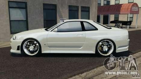 Nissan Skyline GT-R R34 para GTA 4 left