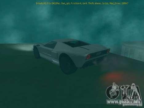 La bala de la GTA TBoGT IVF para GTA San Andreas vista posterior izquierda