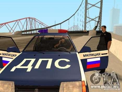 Un accidente en el puente Garver para GTA San Andreas sucesivamente de pantalla