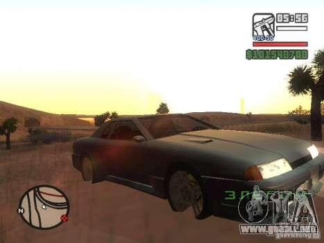Elegía nuevo para vista lateral GTA San Andreas