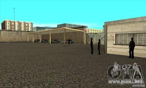 Renovación de autoescuelas en San Fierro V 2.0 F para GTA San Andreas segunda pantalla