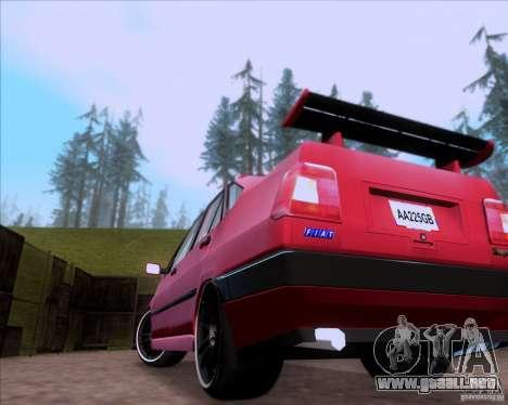 Fiat Tempra 1998 Tuning para visión interna GTA San Andreas