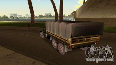 ZIL-157 para GTA Vice City vista posterior