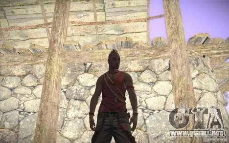 Vaas de Far Cry 3 para GTA San Andreas