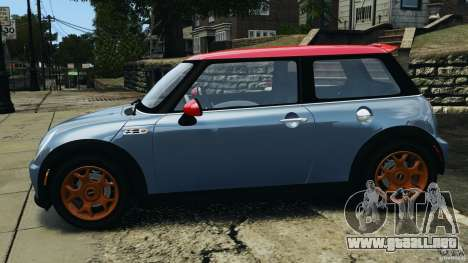 Mini Cooper S v1.3 para GTA 4 left