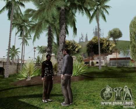 Roman para GTA San Andreas sucesivamente de pantalla