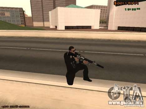 Gray weapons pack para GTA San Andreas quinta pantalla