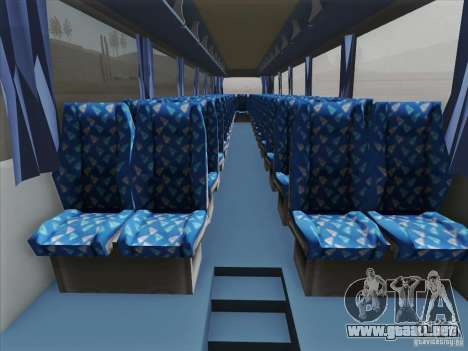 Neoplan Tourliner. Rural Tours 1502 para el motor de GTA San Andreas