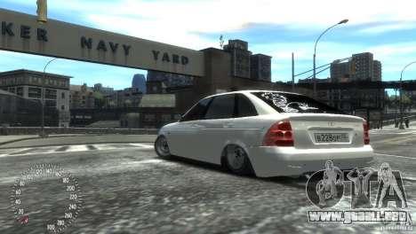 VAZ-2172 Pitbull para GTA 4 left