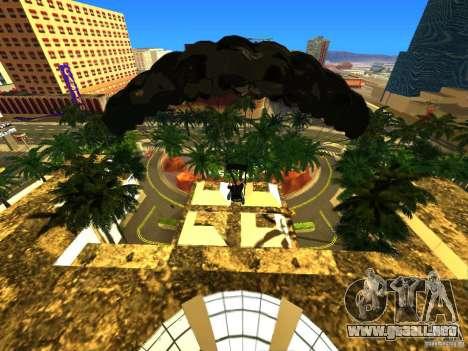 Global Parachute Mod para GTA San Andreas tercera pantalla