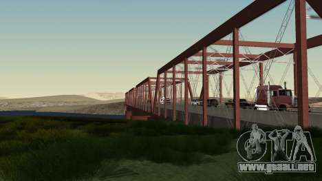 El nuevo puente de LS-LV para GTA San Andreas tercera pantalla