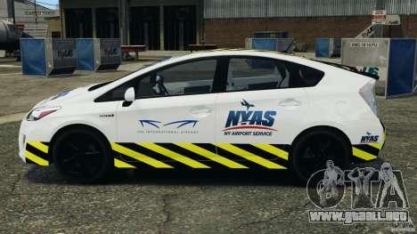 Toyota Prius NY Airport Service para GTA 4 left