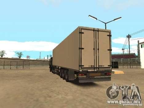 NEFAZ 93344 trailer para GTA San Andreas vista posterior izquierda