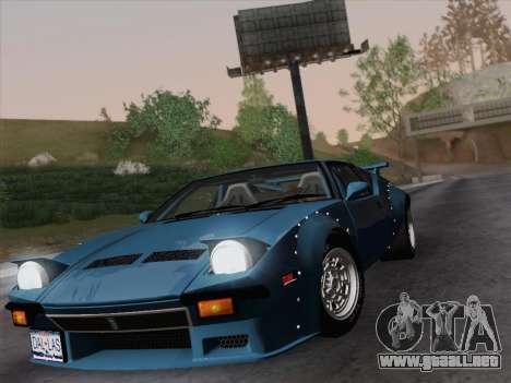 De Tomaso Pantera GT4 para la visión correcta GTA San Andreas