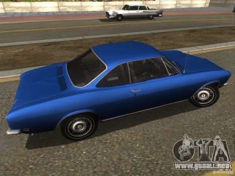 Chevrolet Corvair Monza 1969 para GTA San Andreas left