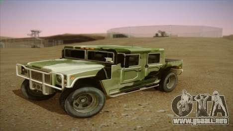 HD Patriot para GTA San Andreas