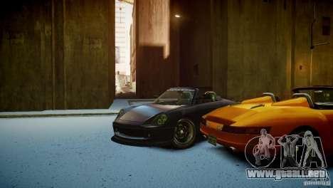 Comet Speedster para GTA 4 vista interior