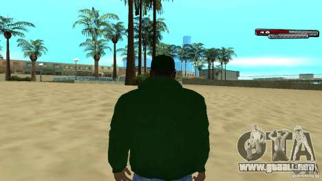 Sweet para GTA San Andreas sucesivamente de pantalla