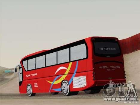 Neoplan Tourliner. Rural Tours 1502 para la visión correcta GTA San Andreas
