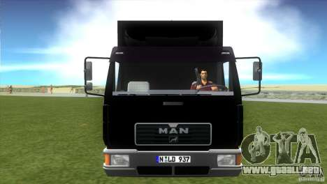 MAN L2000 v0.9 para GTA Vice City vista lateral izquierdo