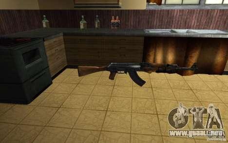 AK-47 desde el juego Left 4 Dead para GTA San Andreas