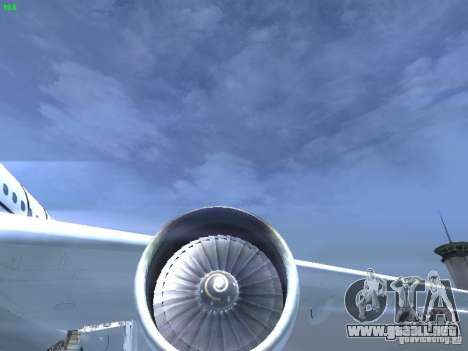 Airbus A330-300 Air Canada para vista lateral GTA San Andreas