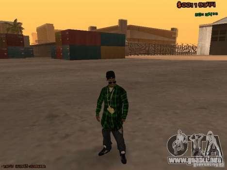 Grove Street Family para GTA San Andreas segunda pantalla