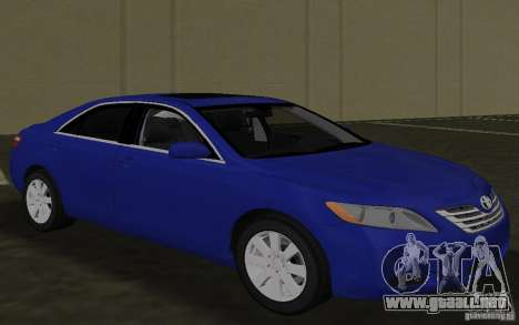 Toyota Camry 2007 para GTA Vice City vista interior
