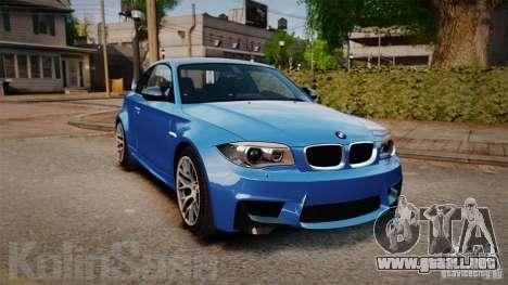 BMW 1M 2011 Carbon para GTA 4