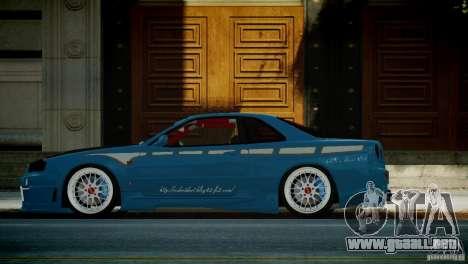 Nissan BNR-34 GT-R para GTA 4 left