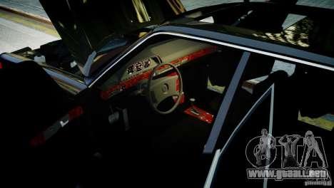 Mercedes-Benz 560 SEL Black Edition para GTA 4 Vista posterior izquierda