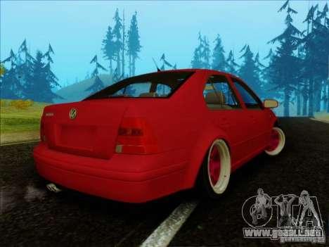 Volkswagen Bora HellaFlush para GTA San Andreas left