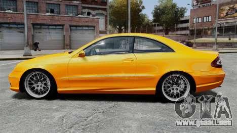 Mercedes-Benz CLK 55 AMG para GTA 4 left
