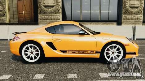 Porsche Cayman R 2012 [RIV] para GTA 4 left