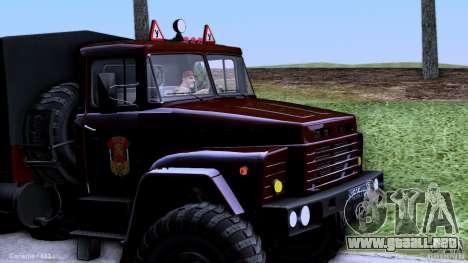 Escuela de manejo de camiones para GTA San Andreas left
